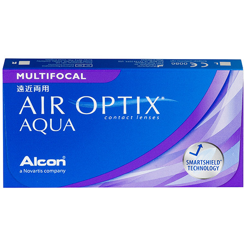 Air Optix Aqua Multifocal (3 lentilles)